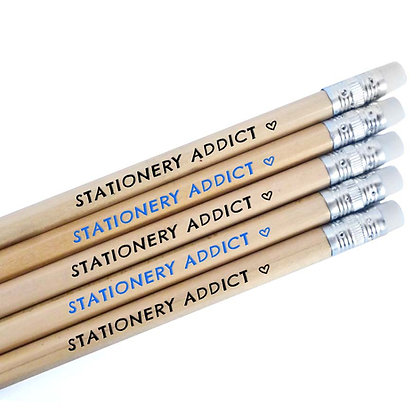 STATIONERY ADDICT PENCILS