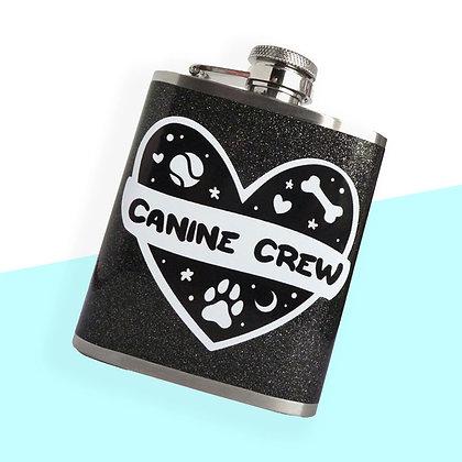 CANINE CREW 3OZ HIP FLASK