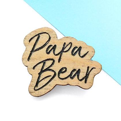 Papa Bear Badge LL