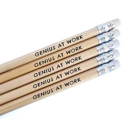 GENIUS AT WORK PENCILS