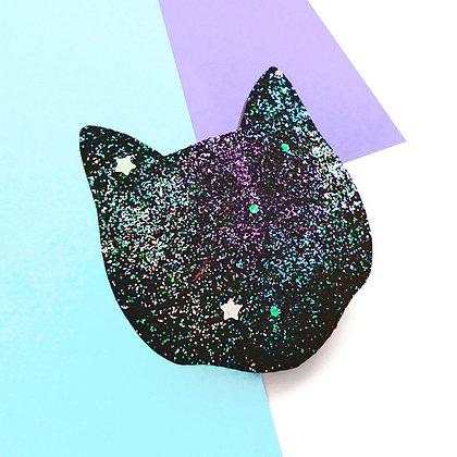 COSMIC CAT BADGE