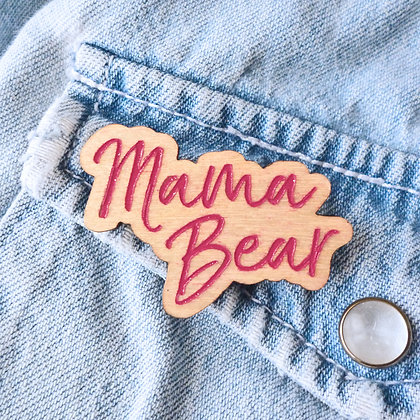 Mama Bear Badge LL