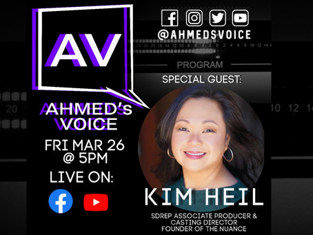 Ahmed's Voice EP 9: KIM HEIL