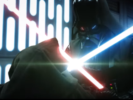 "Classic Vader/Obi-Wan Battle Revisited In ""SC 38 Reimagined"""