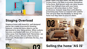 Avoid these 3 trends when staging your home!