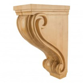 Scrolled Corbel-Large-24