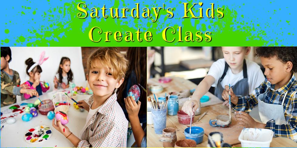 KIDS CREATE CAMP!  SATURDAY 7/17- 10am-12 noon (5)