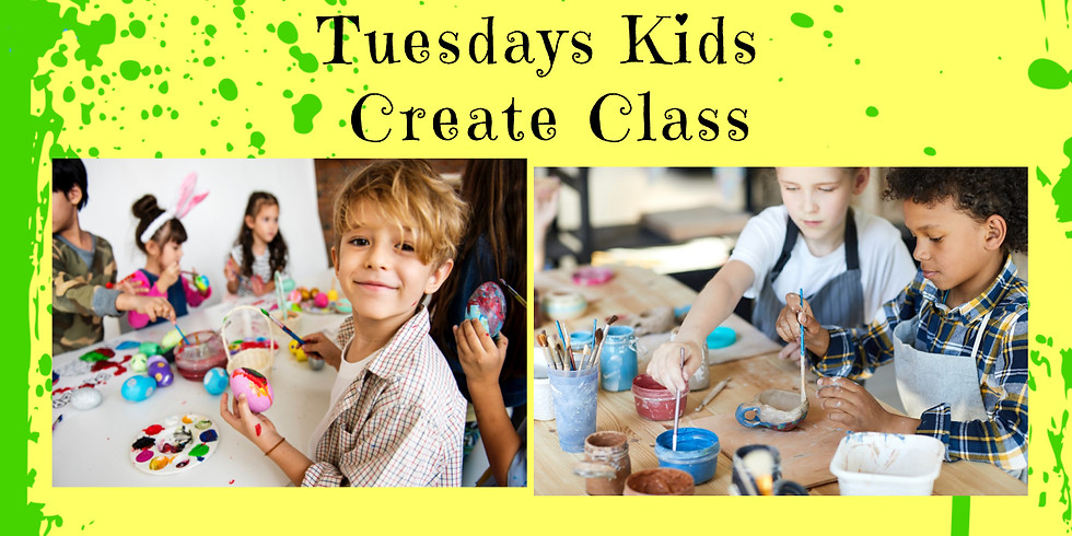 KIDS CREATE CAMP!  Tuesday 7/13- 10am-12 noon (1)