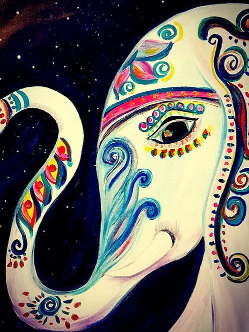 The Elephant/Original Painting