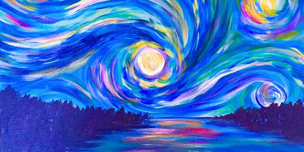 Paint Night with Josh -Starry Starry Cape Cod 7/7-6:30-8:30PM (1)