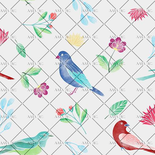 Pigeons in a Garden-APGB06