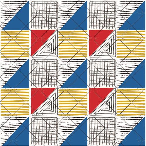 Retro Geometric-GE1910003