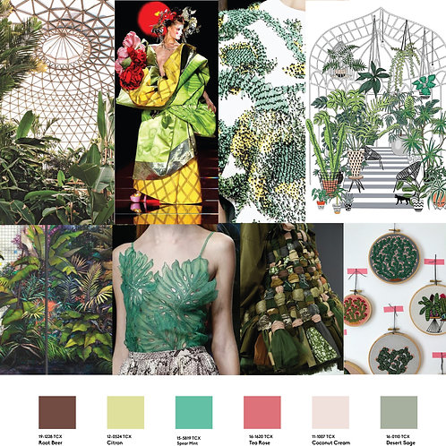Design Capsule SS21 Womenswear-Botanic Galore