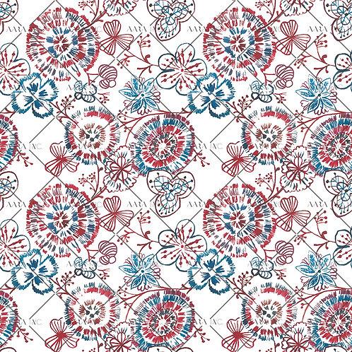 Ballpoint Florals-APBF04