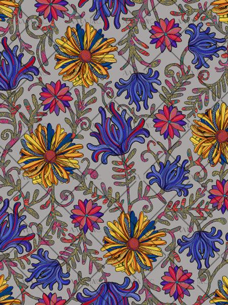 Bold Kashmiri Florals-APKL01