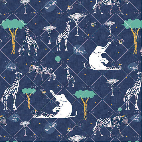 African Jungle Print-KW1910008
