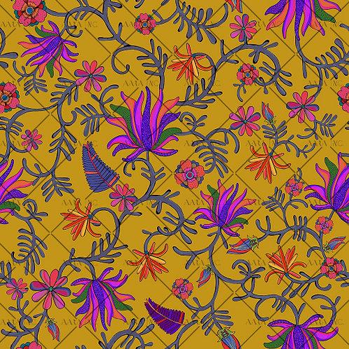 Kashmiri Allover Floral-APKL03