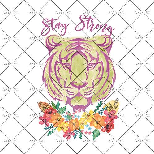 Neon Tiger Graphic