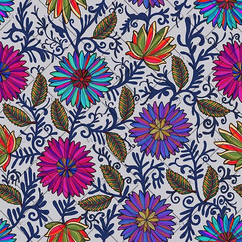 Vibrant Kashmiri Floral-APKL04