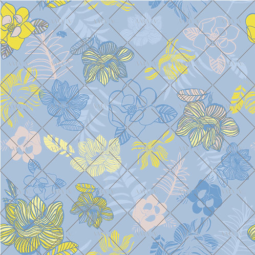 Inky Graphic Florals-NT2010006