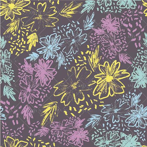 Sketchy Artistic Flowers-NT2010010