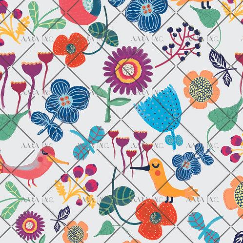 Kitsch Florals for Kids-KWSM02