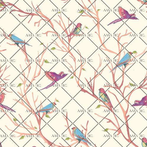 Allover jungle birds-APGB04