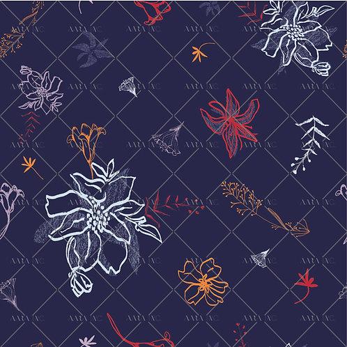 Floral Scribbles-NT2010009