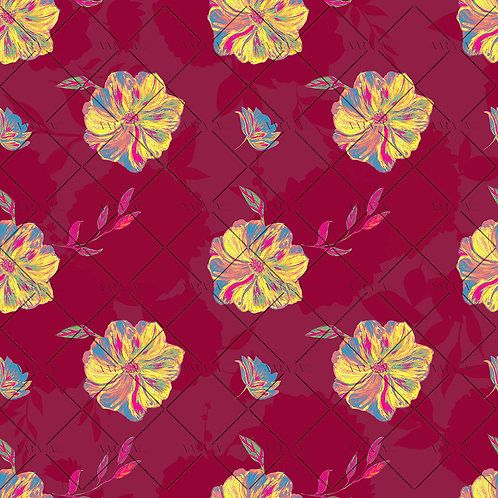 Graphic Floral Blooms-APBB01AC