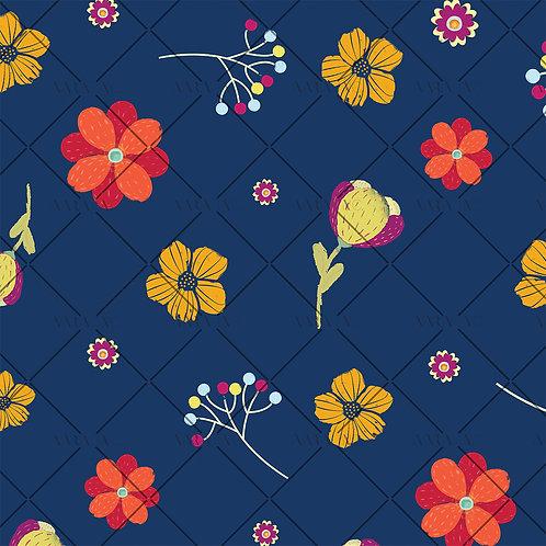 Vibrant Kids Florals-KWSM03AC