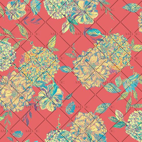 Graphic Big Blooms-APBB01