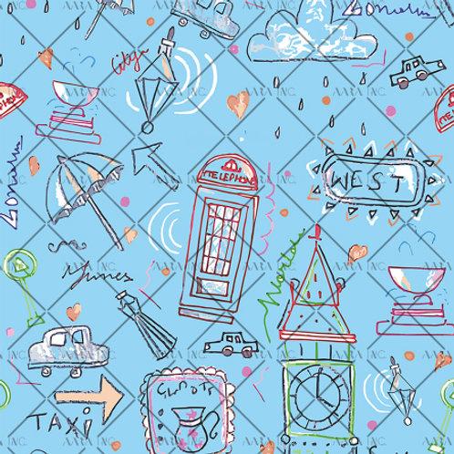 London City Doodles-KWCS05