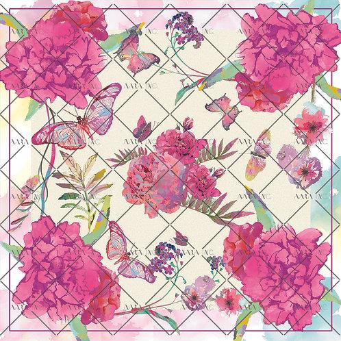 Gorgeous Floral Scarf Print-APSP13