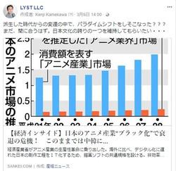 """日本のアニメ産業""""ブラック化""""で衰退の危機! このままでは中韓に…"""