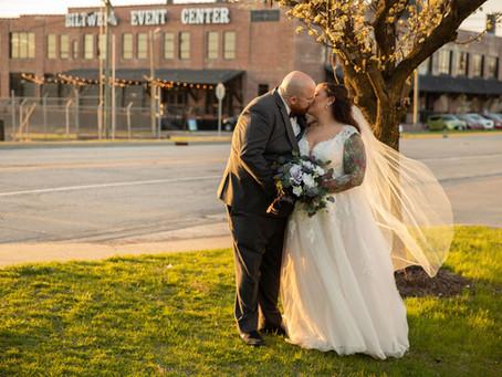 Romantic Spring Wedding at The Biltwell Event Center