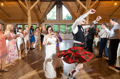 Indianapolis Wedding Photographer - bride and groom dancing at reception