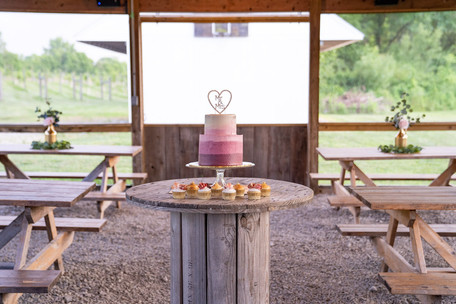 Cake at Vineyard Styled Shoot at The Vineyard Gardens By Royal Weddings and Events with Photography by Emma Males Photography
