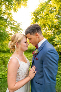 Close up of couple at Styled Shoot by Emma Males Photography at The Vineyard Gardens in Indianapolis Indiana