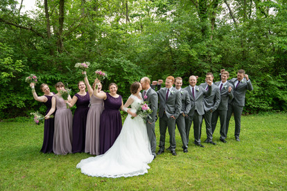 entire bridal party - Emma Males Photography