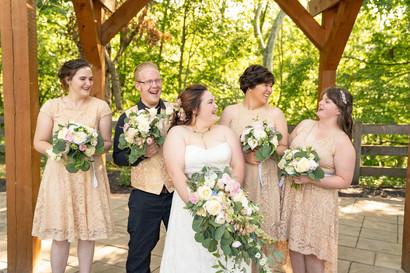 Indianapolis Wedding Photographer - bridesmaids