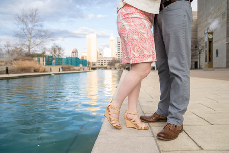 feet by the Indianapolis skyline