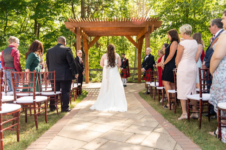 Indianapolis Wedding Photographer - bride walking in