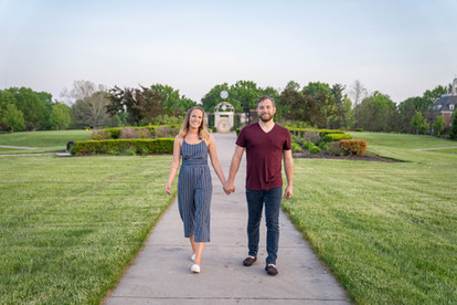 Coxhall Gardens Engagement Session