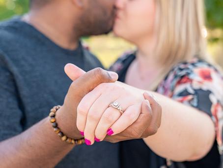 Roji & Ashley - Holiday Park Engagement Session - Indianapolis Wedding Photographer, Emma Males