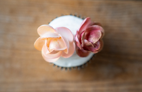 Gorgeous Cupcake at Vineyard Styled Shoot at The Vineyard Gardens By Royal Weddings and Events with Photography by Emma Males Photography
