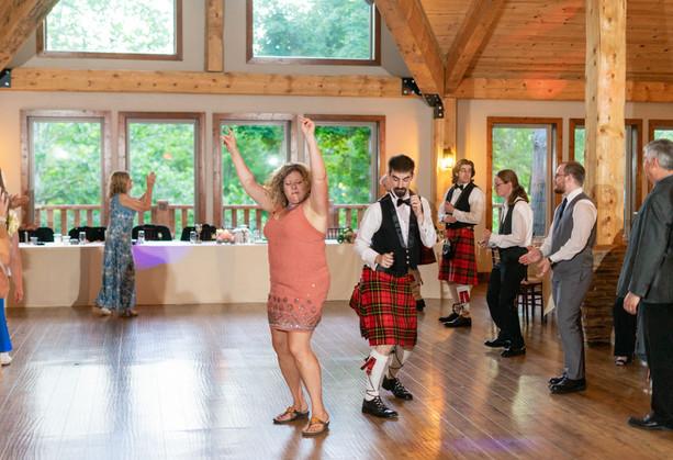 Indianapolis Wedding Photographer - reception dancing