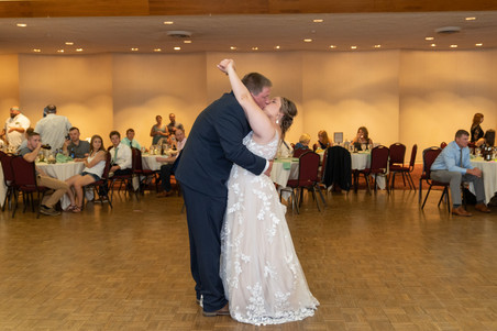 Indianapolis Wedding Photographer Emma Males - reception at Murat Indianapolis