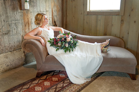 Posed bridal shot at Styled Shoot by Emma Males Photography at The Vineyard Gardens in Indianapolis Indiana