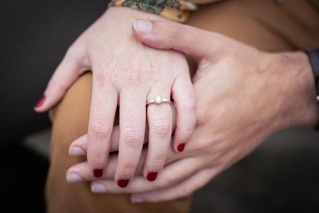 Engagement ring, Indianapolis wedding photographer