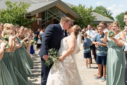 Indianapolis Wedding Photographer Emma Males -  bride and groom